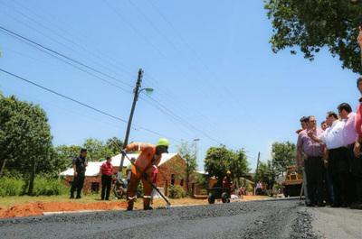 Obras de pavimentación y conectividad arrancan en J. Eulogio Estigarribia