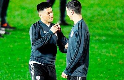 River y Boca entrenan en Madrid para la gran final