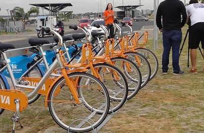 Bicicletas públicas ya están disponibles en el centro de Asunción