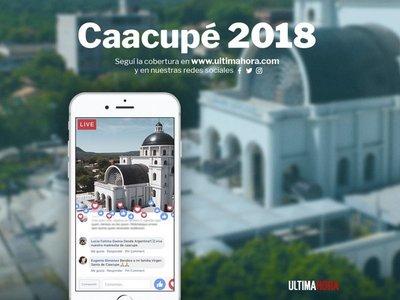 Paraguayos en el extranjero siguen la fiesta de la Virgen de Caacupé