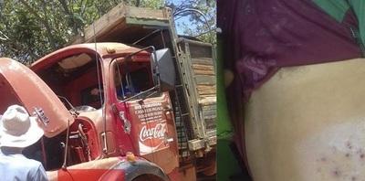 Asaltante cae abatido tras intento de robo a un camión