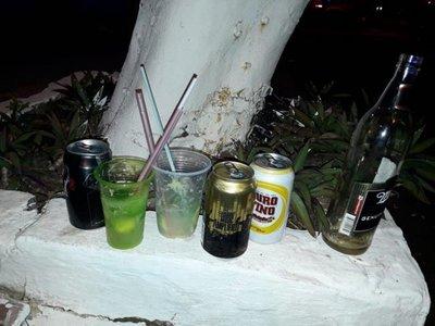 Detenidos por consumir bebidas alcohólicas en Caacupé