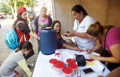 Más de 12.000 peregrinos necesitaron atención médica