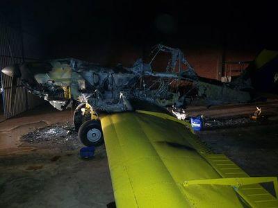 EPP: Tres aeronaves quemadas en San Pedro
