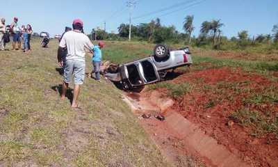 Lesión y daños materiales en aparatoso accidente – Prensa 5