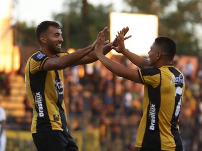 Guaraní despidió el año con goleada a Luqueño
