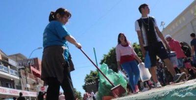 Retiran 25.000 kilos de basura tras peregrinación a Caacupé