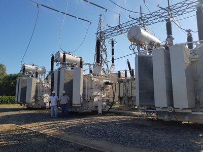 ANDE refuerza potencia en la Subestación Loma Plata