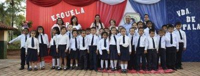 Buscan ampliar escuela de Arroyos y Esteros para albergar a más niños