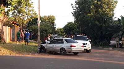 Accidente en la esquina de la Plaza San Roque – Prensa 5