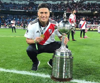 Jorge Moreira también levantó la Copa Libertadores
