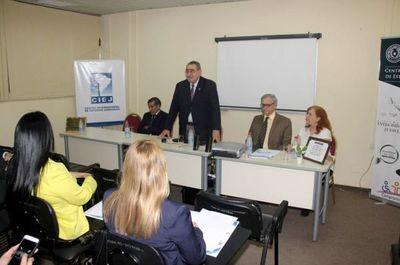 Inician diplomado sobre Derecho y Procesal Constitucional
