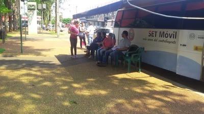 PAC Móvil brindará atención gratuita en Central