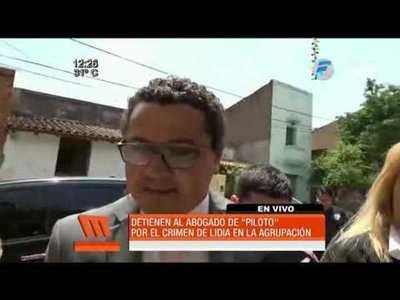 Detienen al abogado de Marcelo Piloto