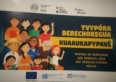Presentan edición en guaraní de la Declaración de los Derechos Humanos