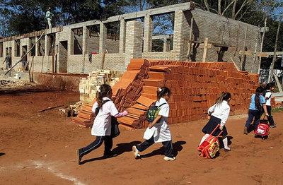 MEC intervendrá instituciones con aulas en pésimo estado