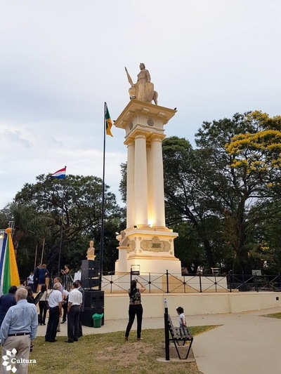 Gran acto conmemoró en Ypané los 150 años de la Batalla de Ytororó
