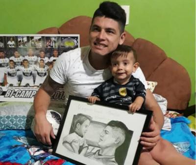 Alfredo Aguilar sorprendió a Brunito en su propia casa