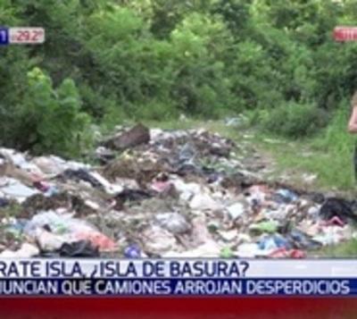 Barrio en Luque se convirtió en un vertedero clandestino