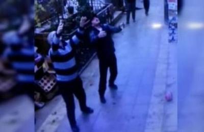 El escalofriante momento en que una niña de cinco años cae de un quinto piso