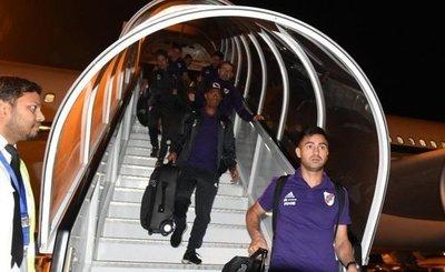 River Plate llegó a Emiratos