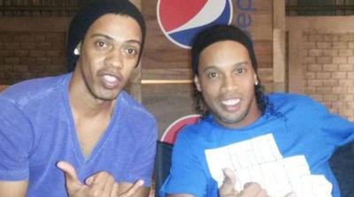 Ronaldinho utilizó a su doble para poder rajar