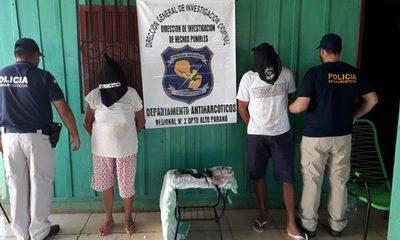 Detienen a microtraficantes de droga