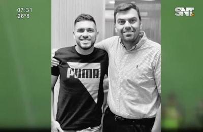 Jorge Ortega renovó contrato con Olimpia