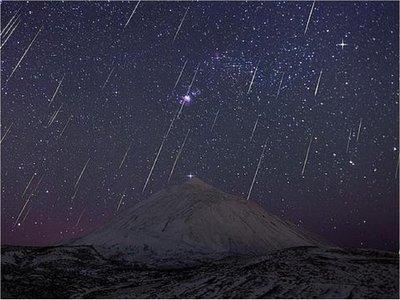 La mejor lluvia de meteoros del año podrá verse en la madrugada