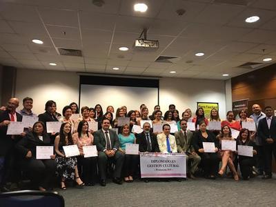 Concluye diplomado en gestión cultural con 39 nuevos egresados