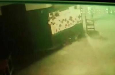Ladrones robaron una escuela en Puerto Botánico