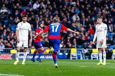CSKA golea al Real Madrid en el Bernabéu