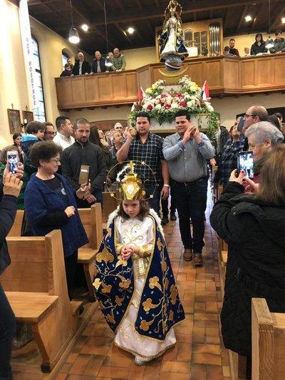 Un milagro de la Virgencita en plena Suiza