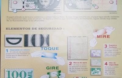 BCP autorizó la emisión de billetes con nuevas medidas de seguridad