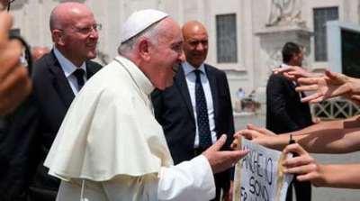 El papa indicó que acoger a los inmigrantes es una responsabilidad moral