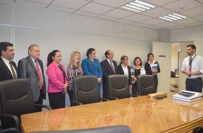 Entregan escáner a juzgados de Primera Instancia de Caazapá