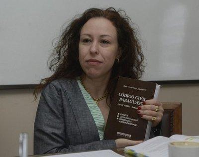 Elodia Almirón hizo su descargo ante el Consejo y niega supuesto plagio