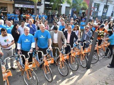 Bicicletas públicas de Asunción ya están disponibles