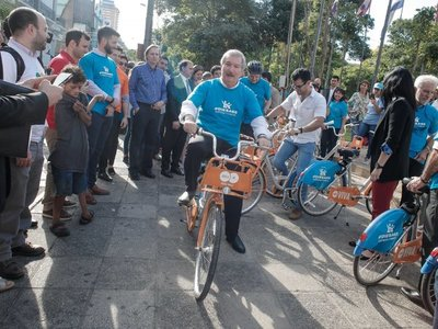 Ya hay bicicletas gratis en Asunción