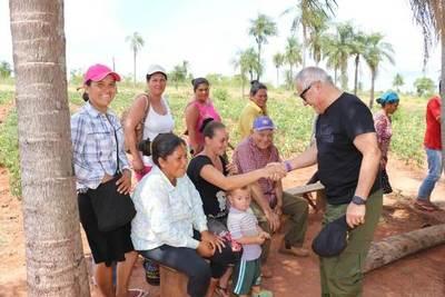 INDERT potenciará trabajos a favor de campesinos en el Este