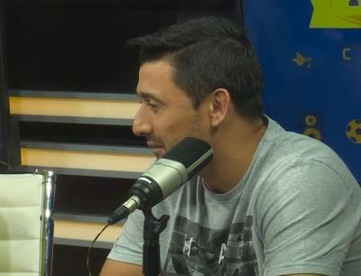 Eduardo Aranda, presente en la Rock and Gol TV