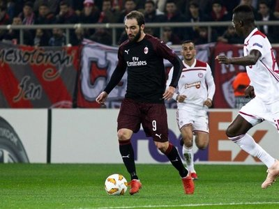 El Milan decepciona en la Europa League
