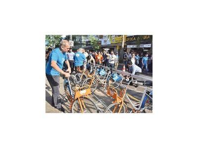 Bicicletas públicas de Asunción se podrán utilizar mediante app