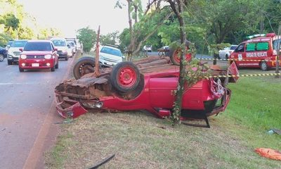 Fatal accidente en Hernandarias