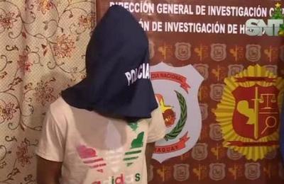 Detienen a supuesto autor de feminicidio en Villarrica