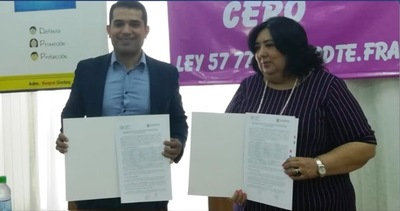 Municipios esteños firman convenio con el Ministerio de la Niñez