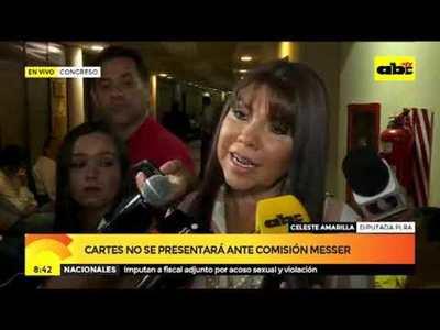 """Celeste Amarilla: """"Se debe presentar una sanción"""""""