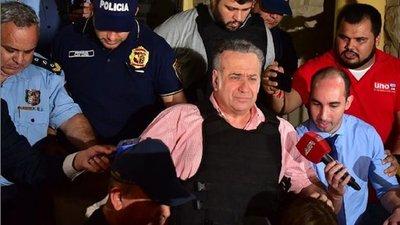 González Daher pasará las fiestas recluido en la Agrupación Especializada