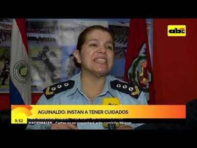 Aguinaldo: Instan a tener cuidados