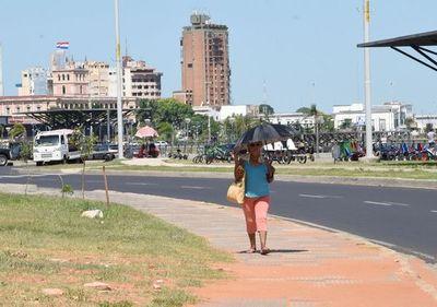 Calor extremo en Paraguay